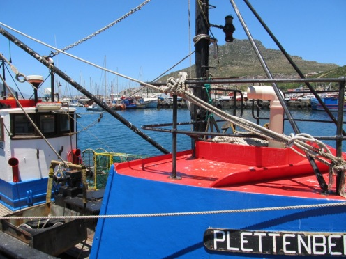 The Harbour is Home to a Fleet of Small Fishing Vessels.