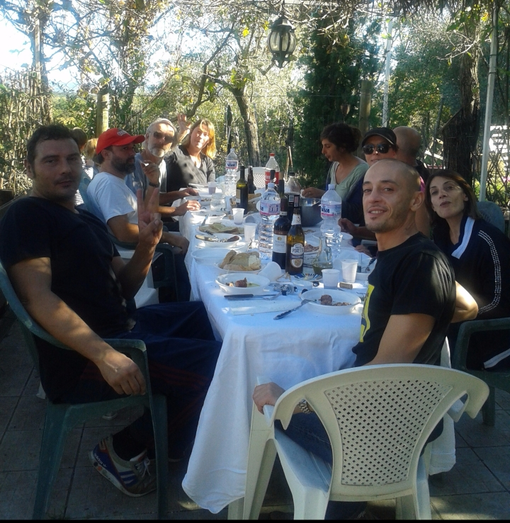 Harvest Lunch at Dario and Libera